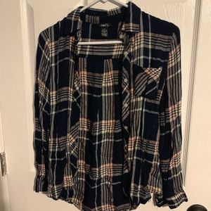 Plaid Button Up Shirt SUPER SOFT